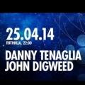 DANNY TENAGLIA и JOHN DIGWEED на We Are Space Moscow